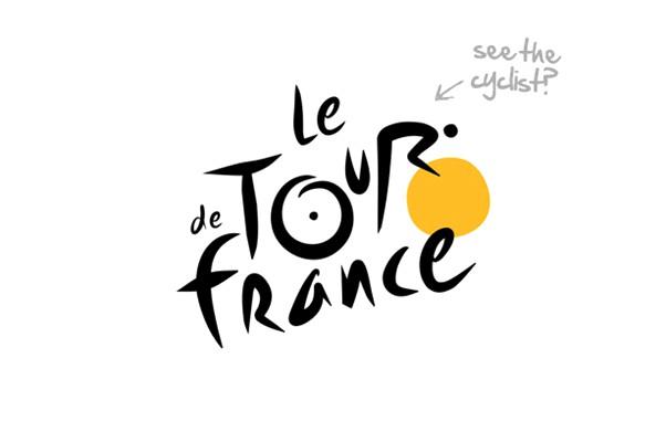 اسرار نهفته در لوگو Le de tour france