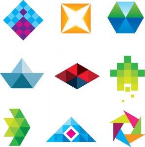 افکت های مختلف در طراحی لوگو
