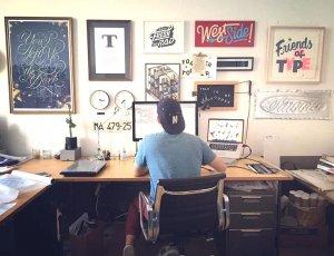آموزش طراحی لوگو جذاب و منحصر به فرد در نرم افزار فتوشاپ